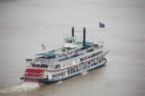 Steamboat Vip by Cruising Along The Mississippie River Upstream Picture