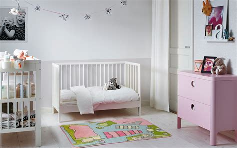 chambre a coucher enfant ikea chambre b 233 b 233 avec petit lit blanc
