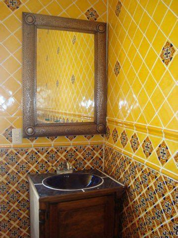 Mexican Bathroom Ideas by Mexican Home Decor On Mexican Tile In Bathroom With Tin