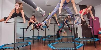 Jumping Fitness Wien Springen
