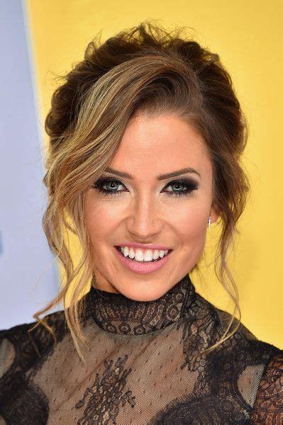 Kaitlyn Bristowe Messy Updo | Easy updo hairstyles ...