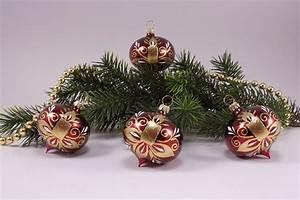 Weihnachtskugeln Aus Lauscha : 4 zwiebeln stierglanz kerze christbaumschmuck und ~ Orissabook.com Haus und Dekorationen