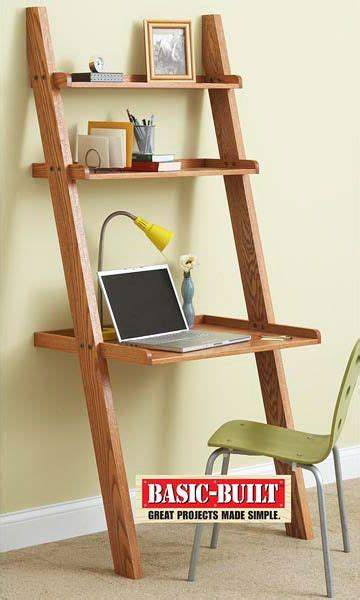 small ladder desk projects easy woodworking diy