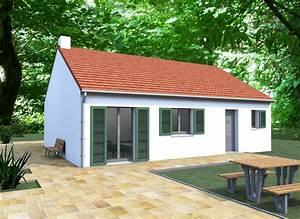 Pied De Menthe : couleur maison construction notre tude menthe petite maison de plein pied ~ Melissatoandfro.com Idées de Décoration
