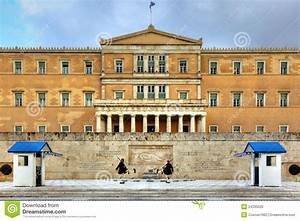 Greek Parliament Royalty Free Stock Image - Image: 24335026