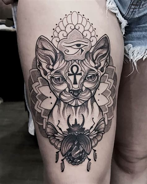 timeless  meaningful egyptian tattoo designs