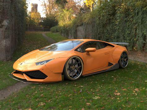 Lamborghini Huracan tuning on Behance