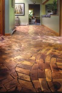 log floor end grain flooring this is stunning the organic curve of the lines and 39 mosaicness 39 of