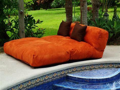 puff sofa  vira cama de casal suede sem enchimento