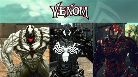 Prototype 2 Mods Anti Venom Venom Carnage Symbiote