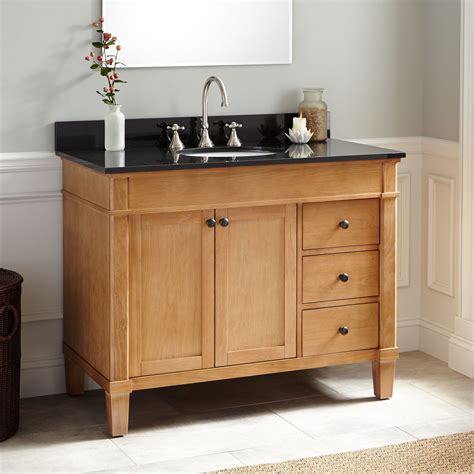 What Is A Bathroom Vanity by 42 Quot Marilla Oak Vanity Bathroom Vanities Bathroom