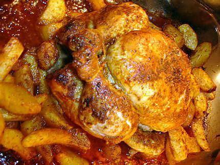 recette poulet au