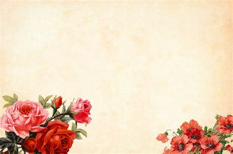 photo border watercolor floral flower background