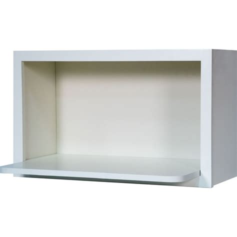 microwave wall shelf 30 inch microwave shelf wall cabinet in shaker white 30