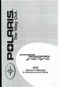 2009 Polaris Ranger Rzr 800 Efi Side By Sides Owners Manual