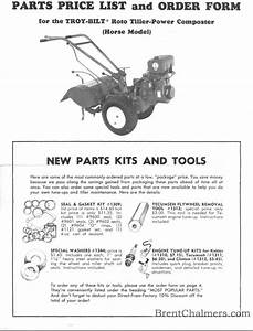 Troy Bilt Horse Parts Diagram