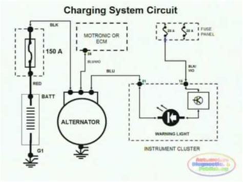charging system wiring diagram