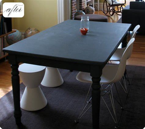 before & after: kate?s chalkboard table ? Design*Sponge