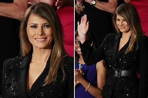 Melania Trump: First Lady receives standing ovation at The ...