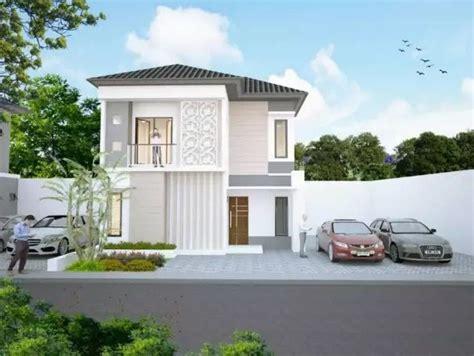 rumah minimalis  lantai modern