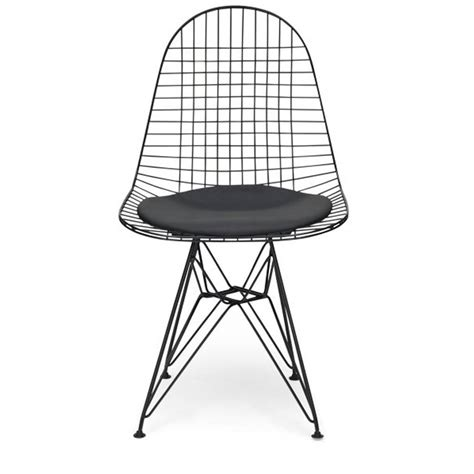 chair metal eames style dkr wire mesh chair by cielshop