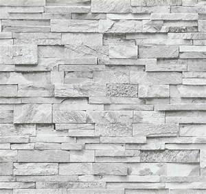 Tapete Steinoptik 3d : vliestapete stein 3d optik grau wei mauer p s 02363 30 ~ Frokenaadalensverden.com Haus und Dekorationen