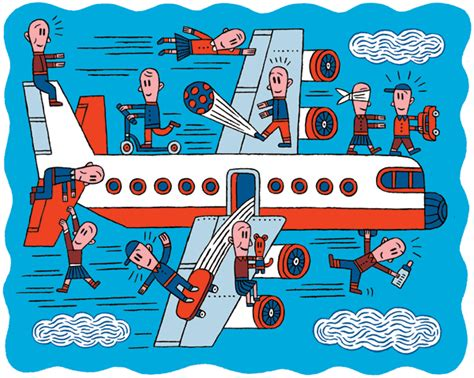 Airlines And Airplanes Flying Children And Youth