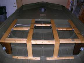 Jon Boat Deck Build by 17 Best Images About Skiff Modifications On