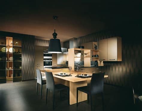 modele cuisine noir et blanc cuisine noir blanc bois