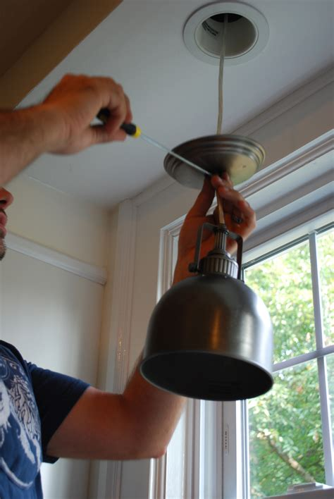 high hat light diy cheap high hat to pendant conversion effortless