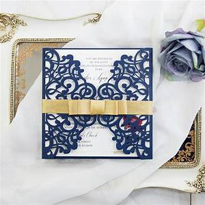 navy blue beauty and the beast laser cut wedding With cheap beauty and the beast wedding invitations