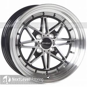 Circuit Performance Wheels  Cp24 15x8 4x100 Gloss Black