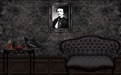 Poe Edgar Allan Gothic Wallpapers Fiction Literature