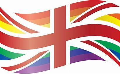 Flag Lgbt British Clipart Union Hope Round
