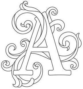 letter perfect alphabet gorgeous letters   paper embroidery embroidery