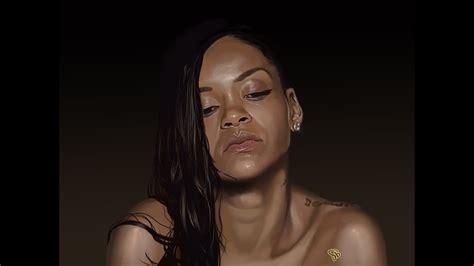 Stay Rihanna Search: Speedpainting By Darryl Barnes
