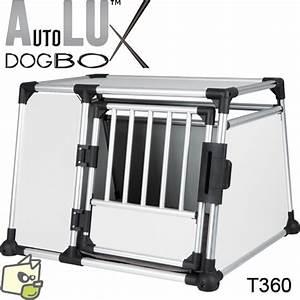 Voiture Pour Chien : cage de transport bois aluminium pour coffre de voiture ~ Medecine-chirurgie-esthetiques.com Avis de Voitures