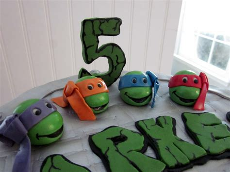 darlin designs teenage mutant ninja turtle birthday cake