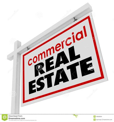 Commercial Real Estate Sign Building Office Business For