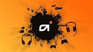 Orange, Gaming, Wallpapers