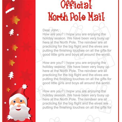 create  printable santa letters