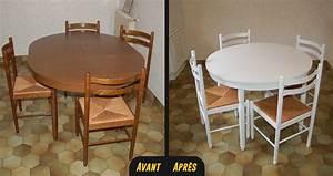 Relooker Des Chaises : chaises de cuisine vannes ~ Melissatoandfro.com Idées de Décoration