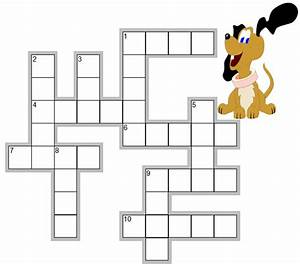 Easy Crossword Puzzle For Early Learners