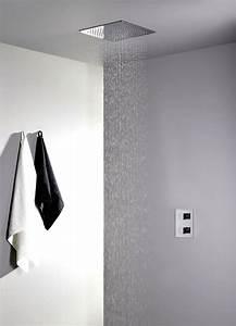 Douche Encastrable Plafond : plafond douche douche de tte encastrable au plafond xxl ~ Premium-room.com Idées de Décoration