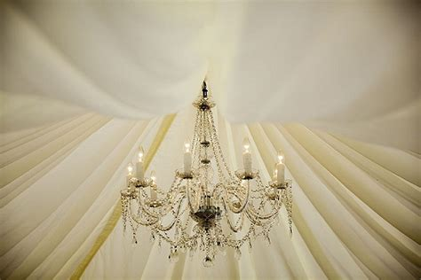Marquee Chandeliers by Summer Marquee Wedding Flowers Roses