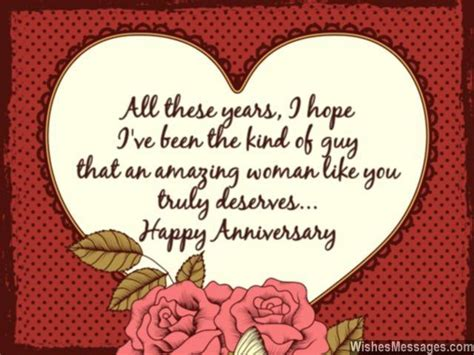 sweet wedding anniversary quotes  husband
