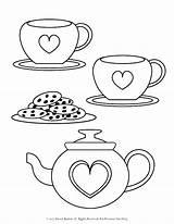 Tea Coloring Fancy Nancy Cup Printable Colouring Sheets Preschool Printables Getcolorings sketch template