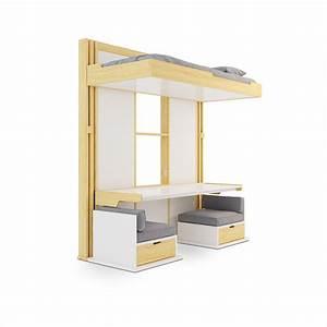 Meuble Gain De Place Pour Studio : agr able meuble gain de place studio 14 lits ~ Premium-room.com Idées de Décoration