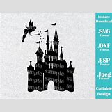 Disney Castle Silhouette With Tinkerbell | 570 x 440 jpeg 47kB
