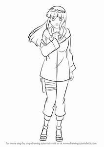Learn How to Draw Hinata Hyuga from Naruto (Naruto) Step ...